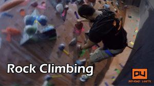 Du Beyond Limits | Goes Rock climbing (Rocknasium)